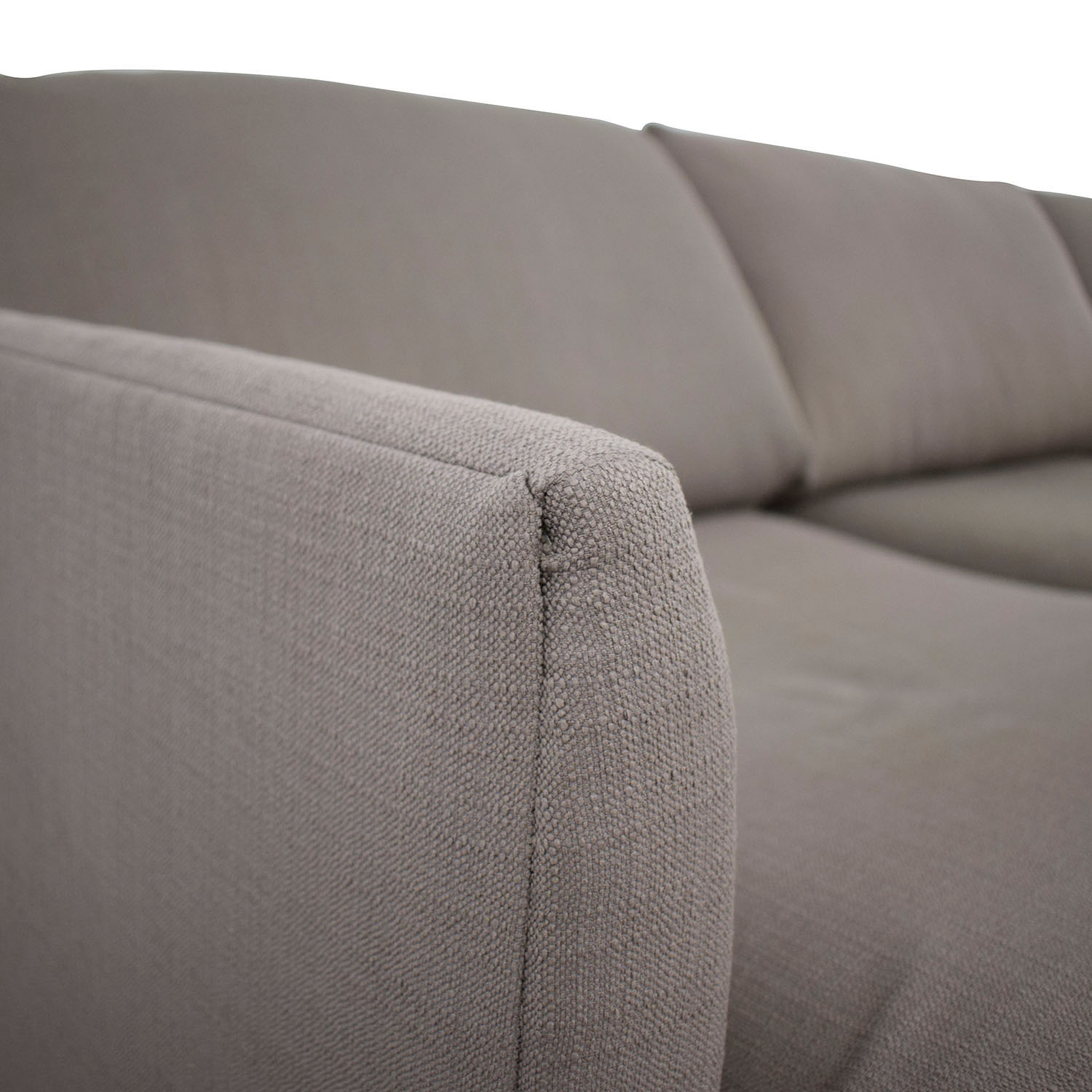 Crate & Barrel Crate & Barrel Two Piece Sectional discount