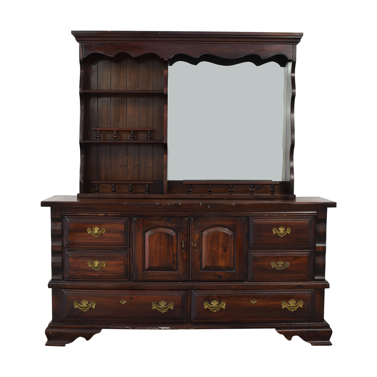 buy Broyhill Furniture Dresser with Mirror Broyhill Furniture
