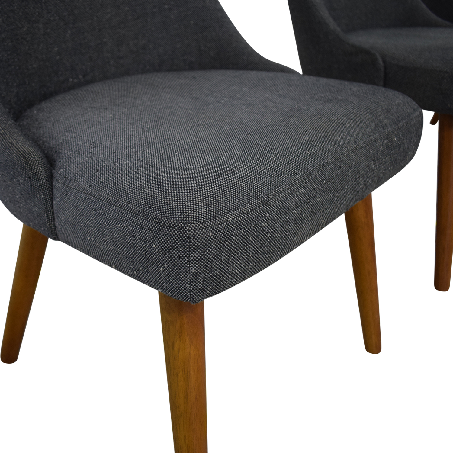 West Elm West Elm Mid-Century Upholstered Dining Chairs dimensions