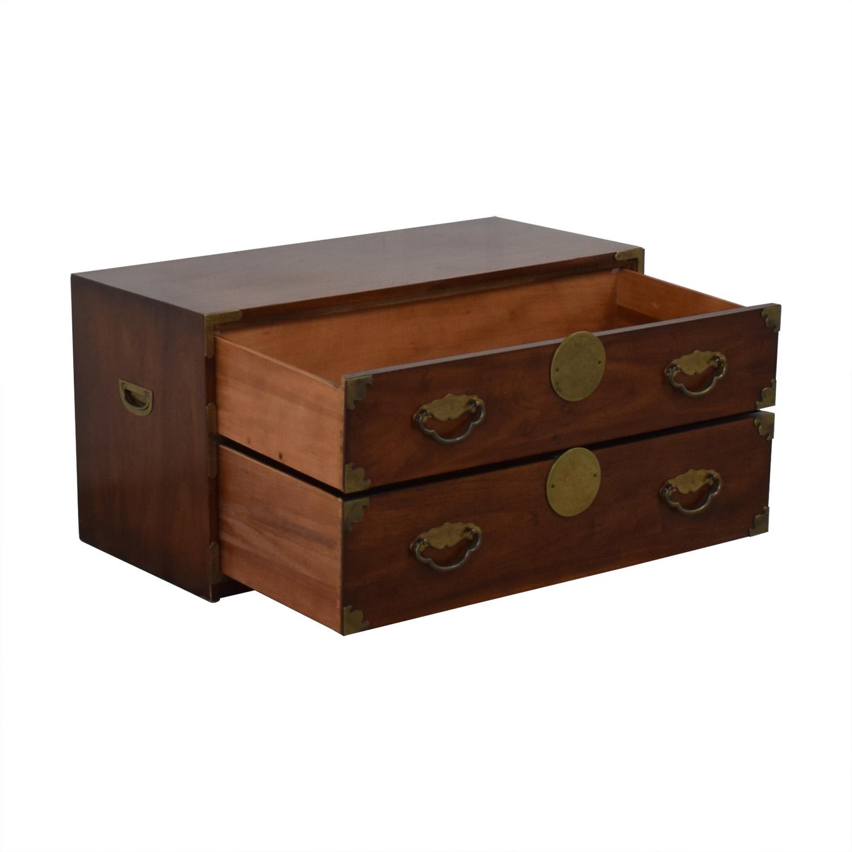 Henredon Furniture Henredon Furniture Two Drawer Chest Storage