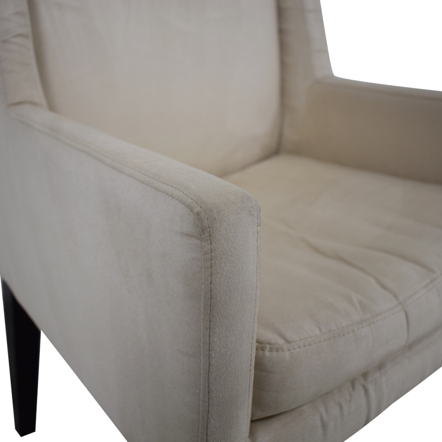 buy West Elm Modern Wing Chair West Elm Accent Chairs