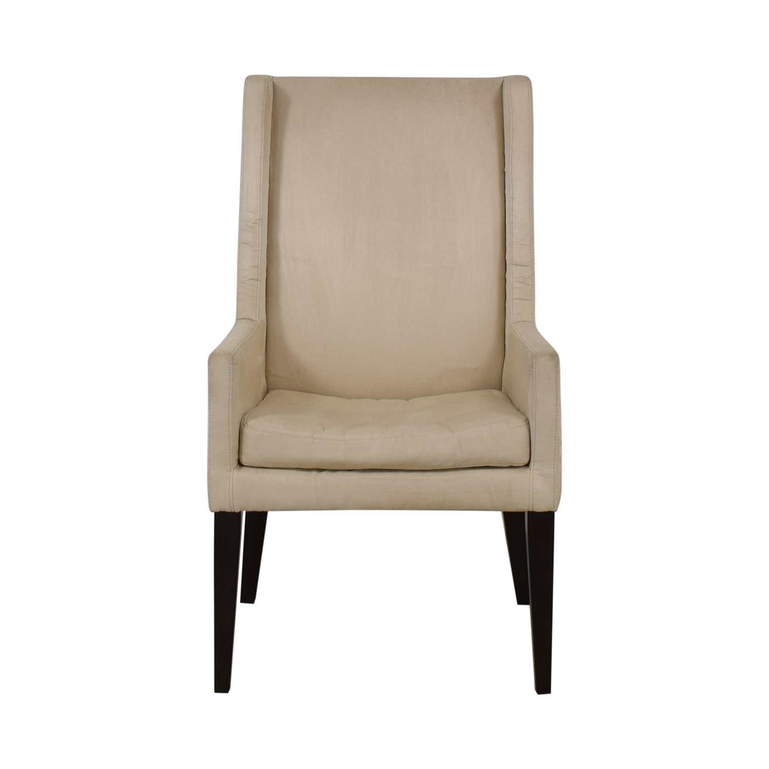 West Elm West Elm Modern Wing Chair beige