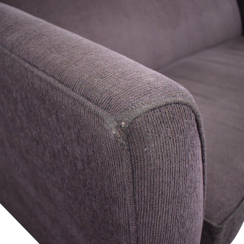 Rowe Furniture Rowe Furniture Single Cushion Sofa Sofas