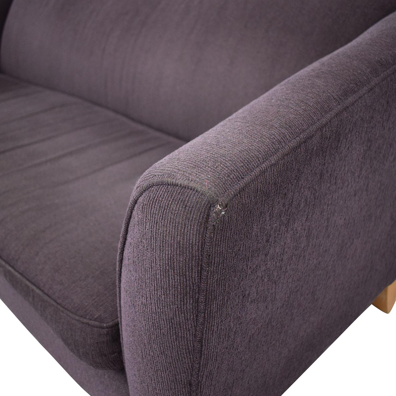 shop Rowe Furniture Single Cushion Sofa Rowe Furniture