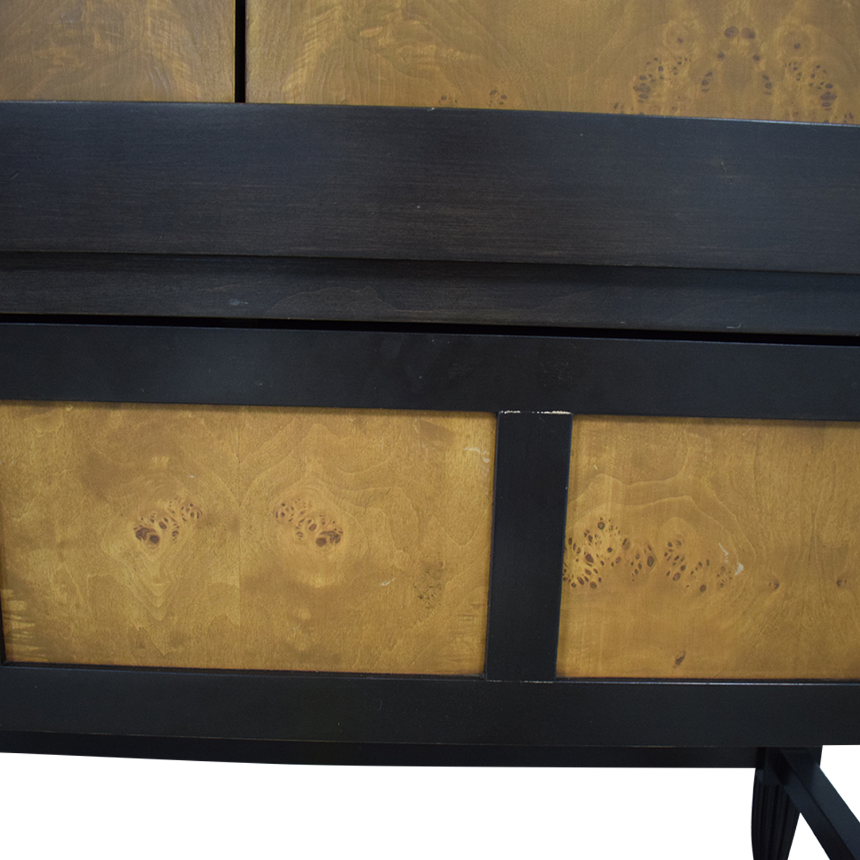 Custom Cabinet Media Unit brown & black