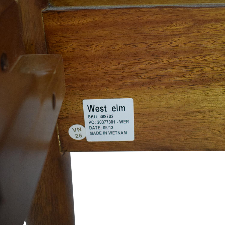 buy West Elm Mid Century Queen Acorn Bed West Elm Beds