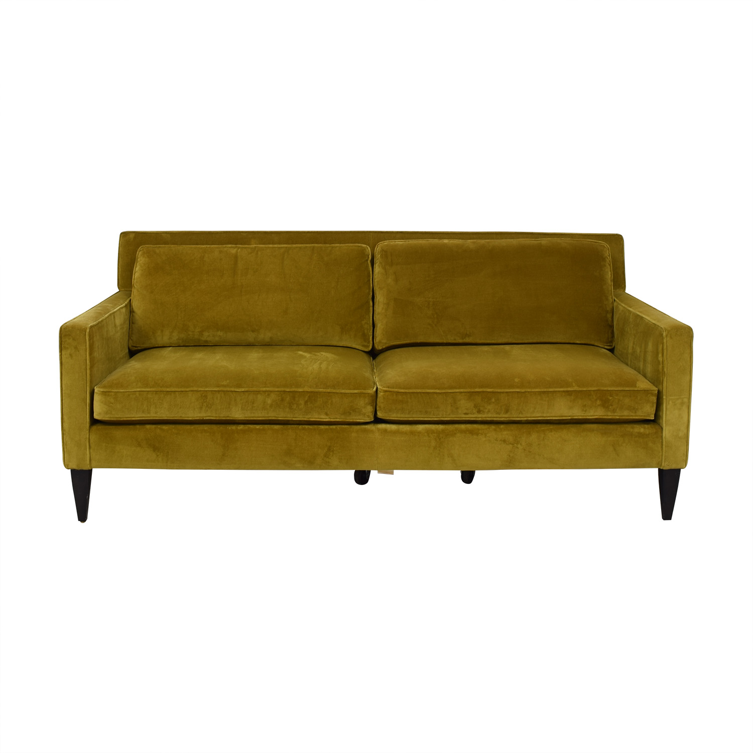 shop Crate & Barrel Rochelle Mid Century Apartment Sofa Crate & Barrel Classic Sofas
