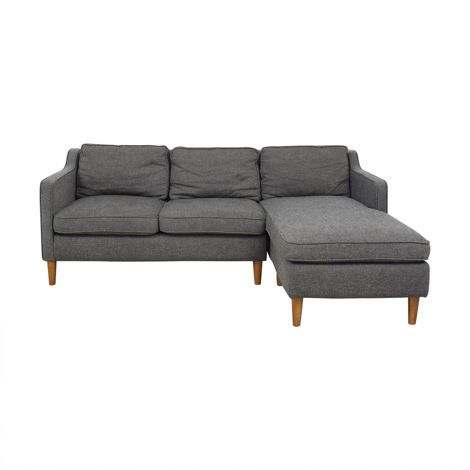 West Elm Hamilton Chaise Sectional / Sofas