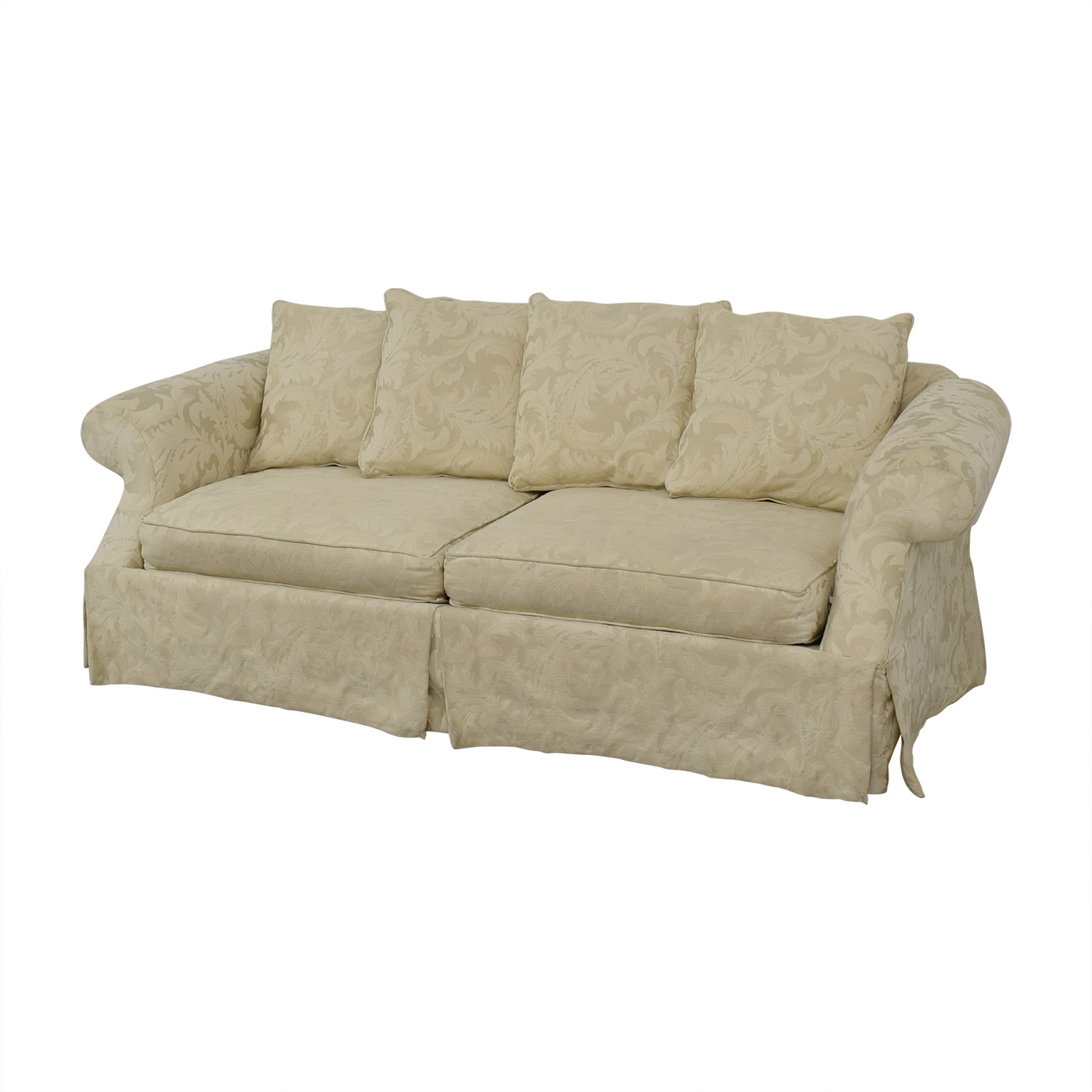 Rowe Furniture Rowe Furniture Roll Arm Sofa Classic Sofas
