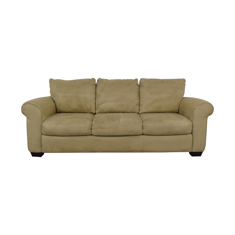Italsofa Italsofa Microsuede Sofa dimensions