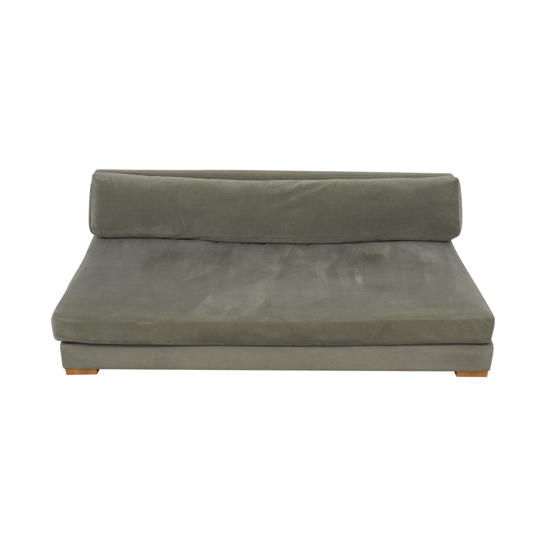 CB2 CB2 Piazza Armless Sofa price