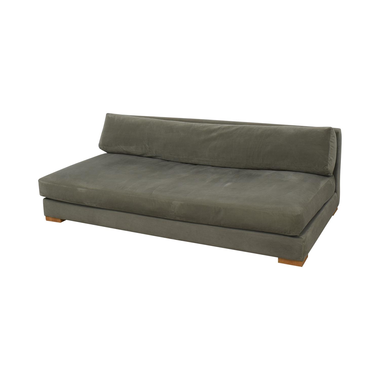 CB2 CB2 Piazza Armless Sofa Sofas