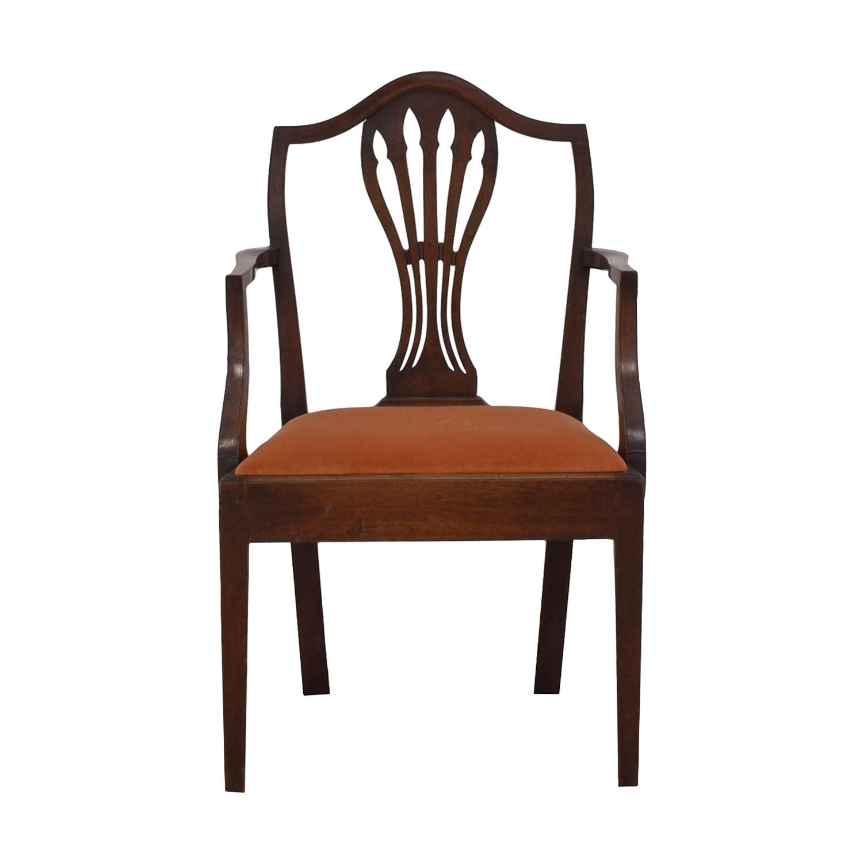 buy Wood and Hogan Hepplewhite Side Chair Wood and Hogan