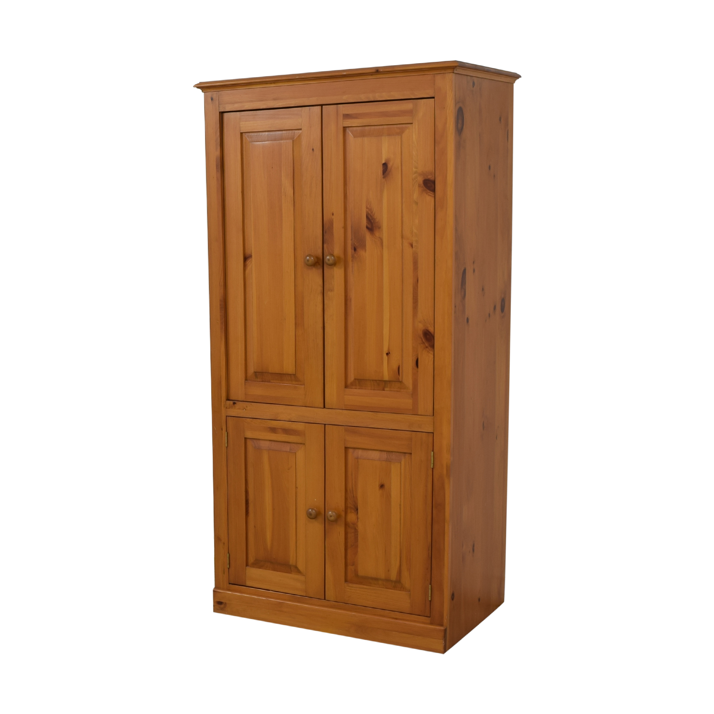 shop Four Cabinet Armoire  Storage