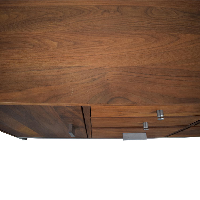 Room & Board Walnut Linear Classic Custom Cabinet sale