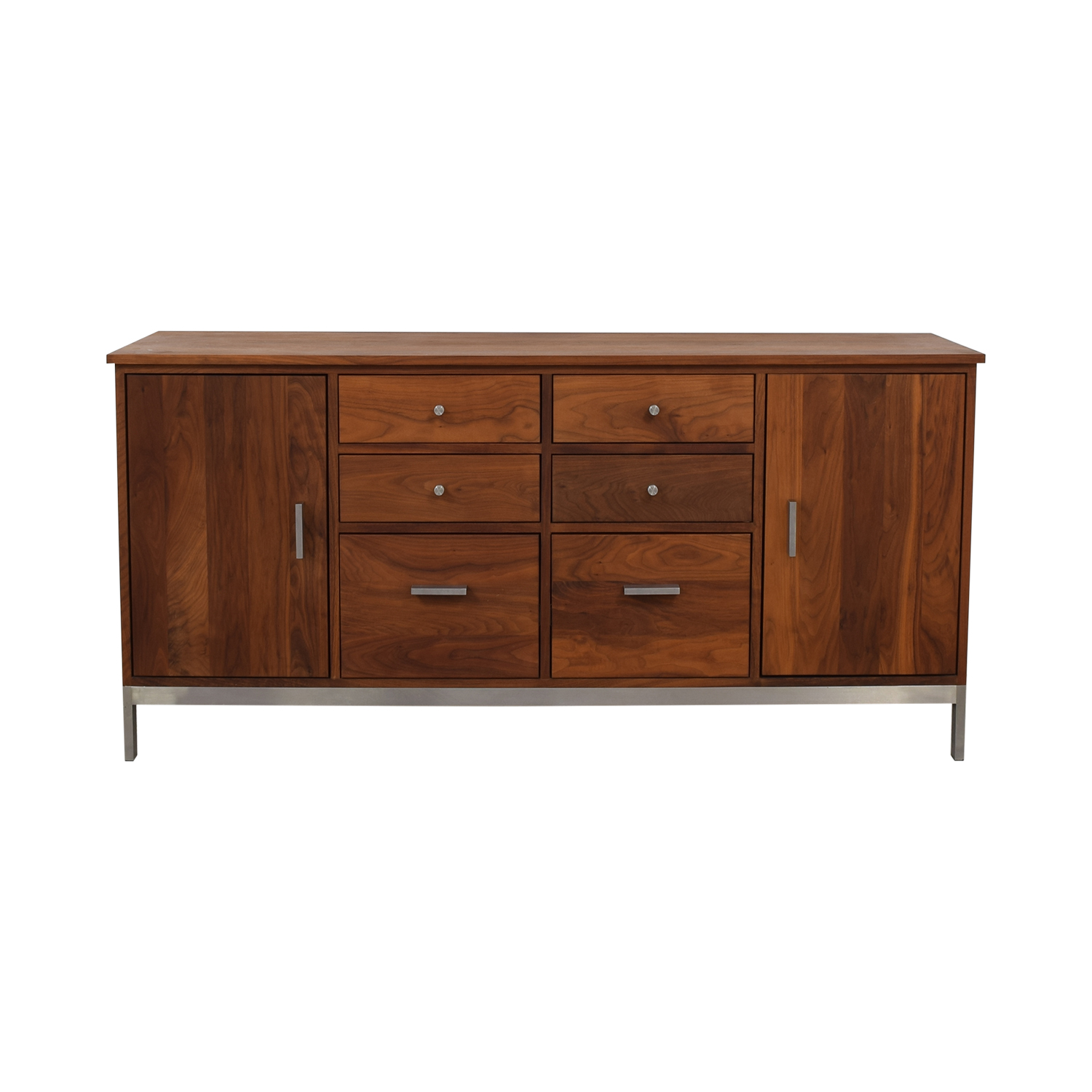 Room & Board Room & Board Walnut Linear Classic Custom Cabinet dimensions