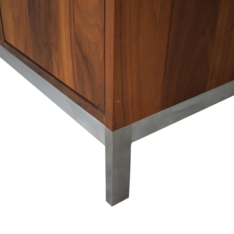 Room & Board Room & Board Walnut Linear Classic Custom Cabinet nyc