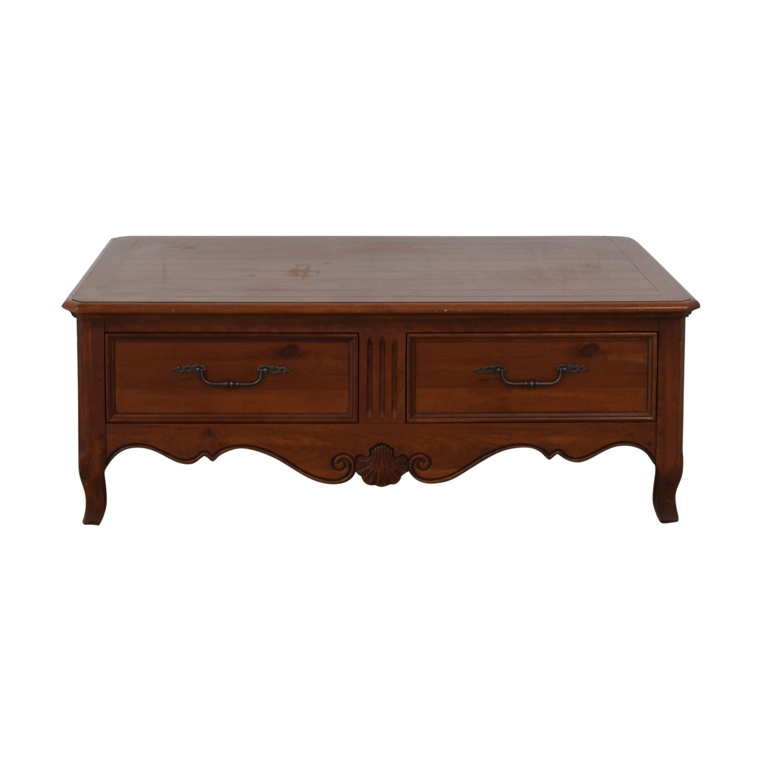 Ethan Allen Storage Coffee Table / Coffee Tables