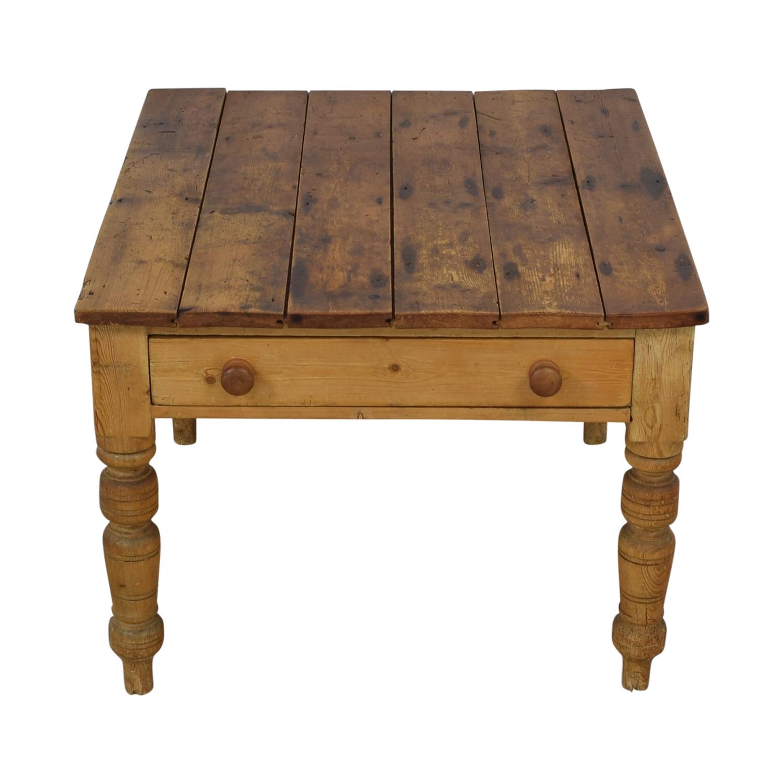 Ralph Lauren Home Ralph Lauren Rustic Vintage Pine Table used