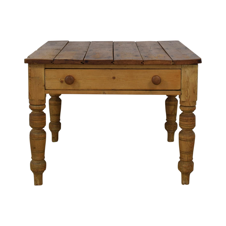 Ralph Lauren Rustic Vintage Pine Table Ralph Lauren Home