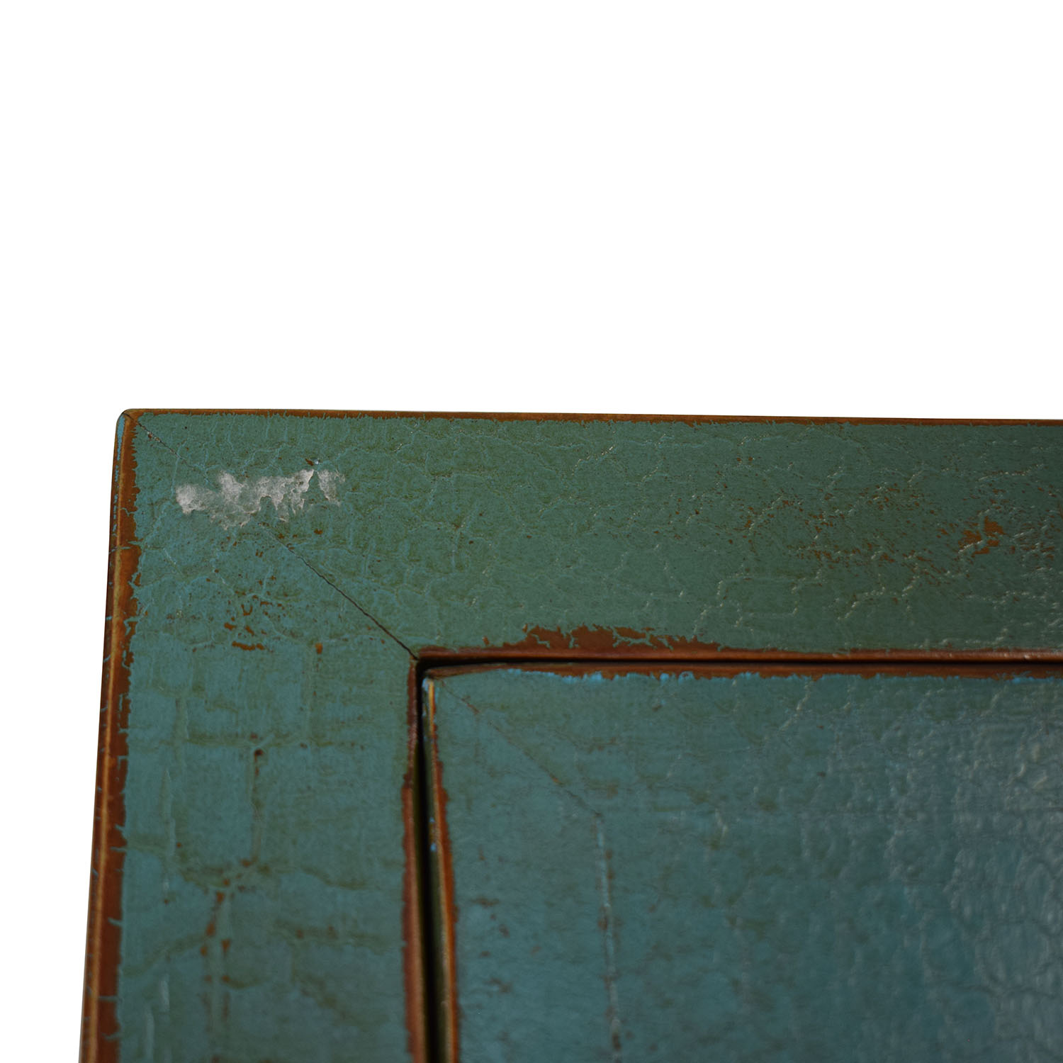 Two Door Chinese Cabinet Turquoise on sale