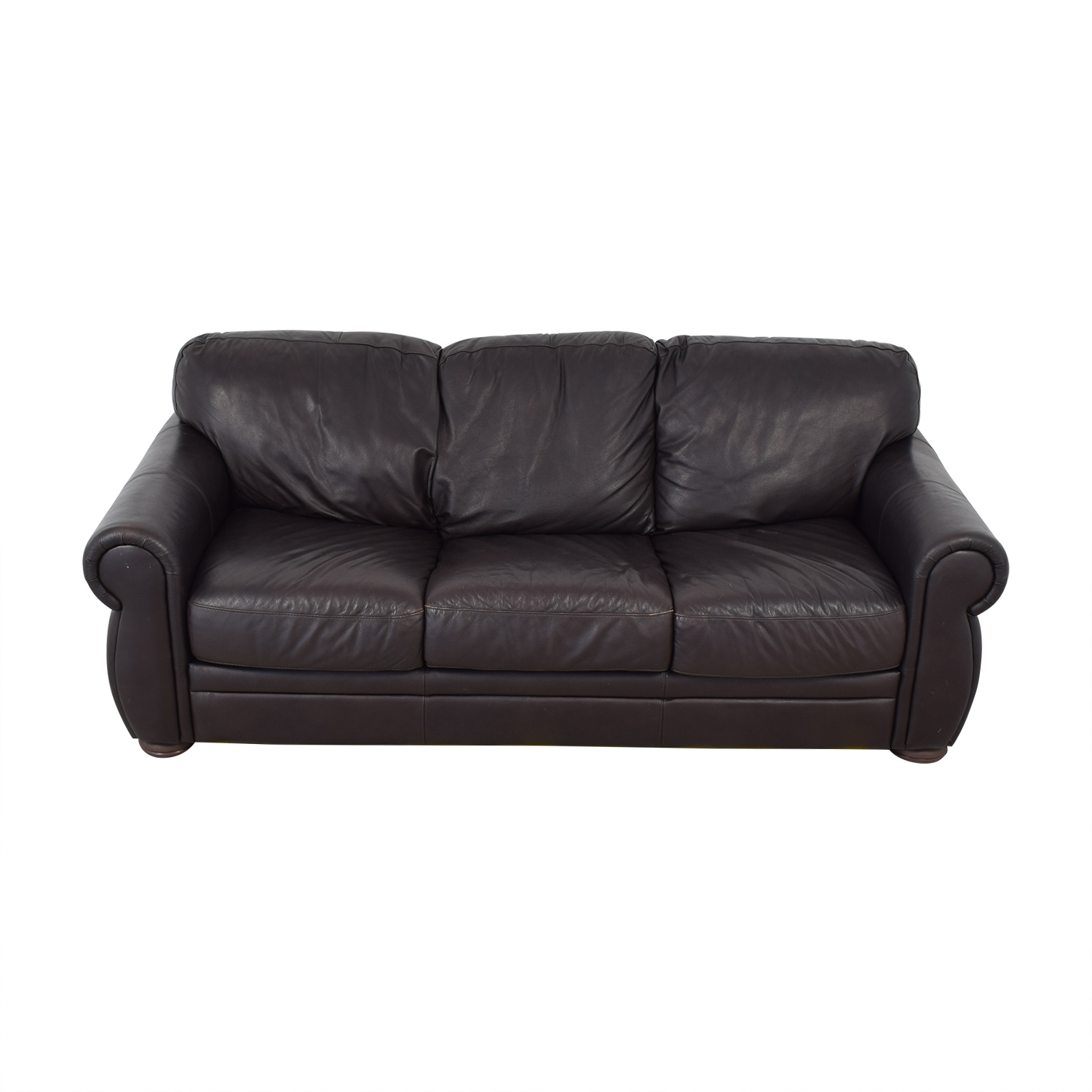 Raymour & Flanigan Raymour & Flanigan Leather Sleeper Sofa price