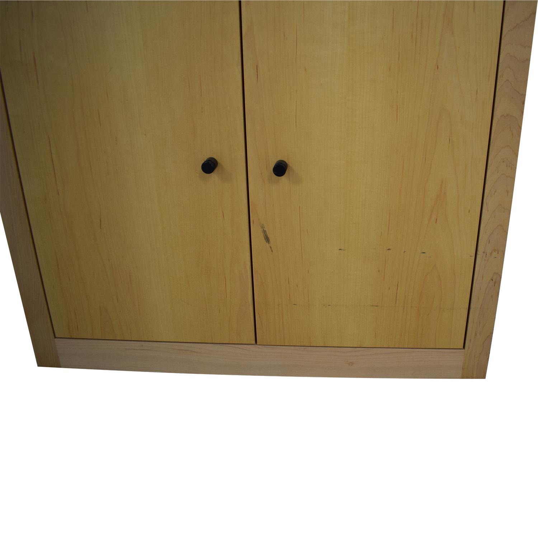 shop Room & Board Woodwind Bookcase with Doors Room & Board