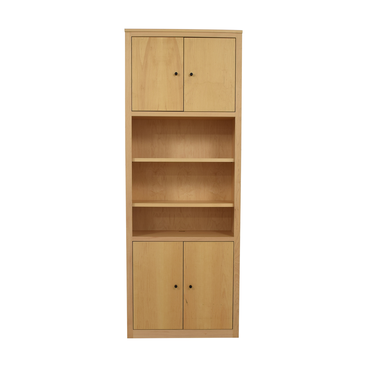 Room & Board Room & Board Woodwind Bookcase with Doors dimensions