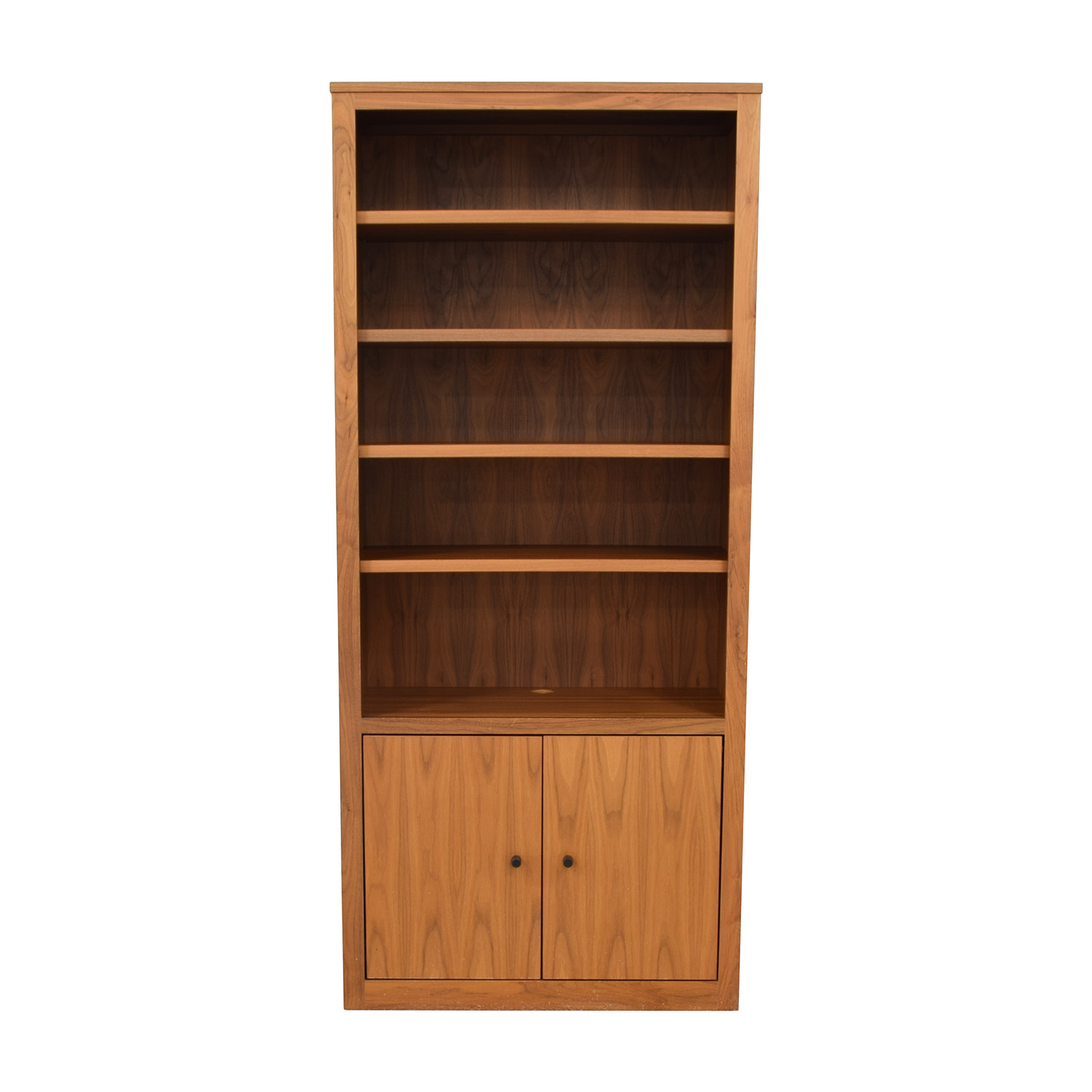 shop Room & Board Woodwind Custom Two Door Bookcase Room & Board