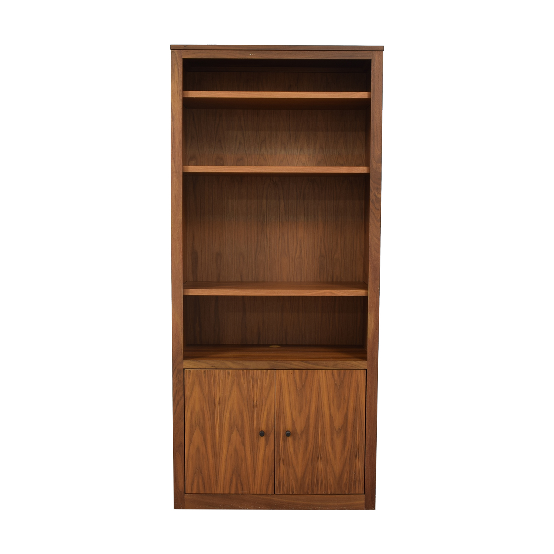 buy Room & Board Woodwind Custom Two Door Bookcase Room & Board Storage