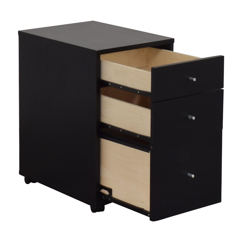 Room & Board Room & Board Hudson Rolling File Cabinet discount