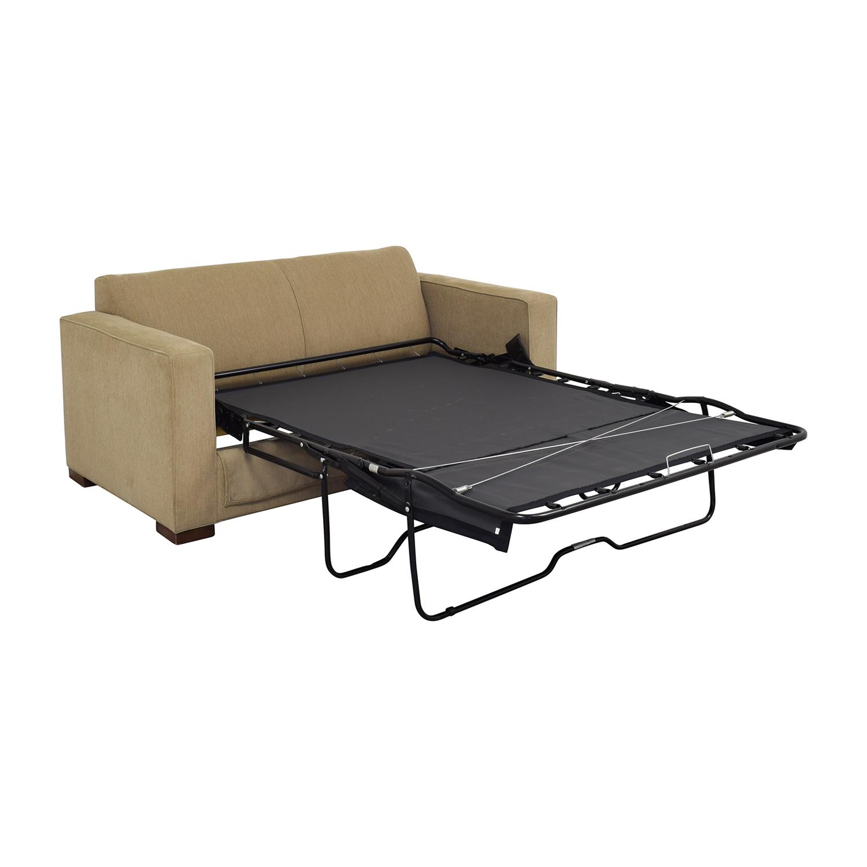 Room & Board Room & Board Berin Wide Arm Day & Night Sleeper Sofa nj