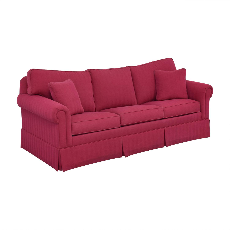 Ethan Allen Ethan Allen Sleeper Sofa Pink