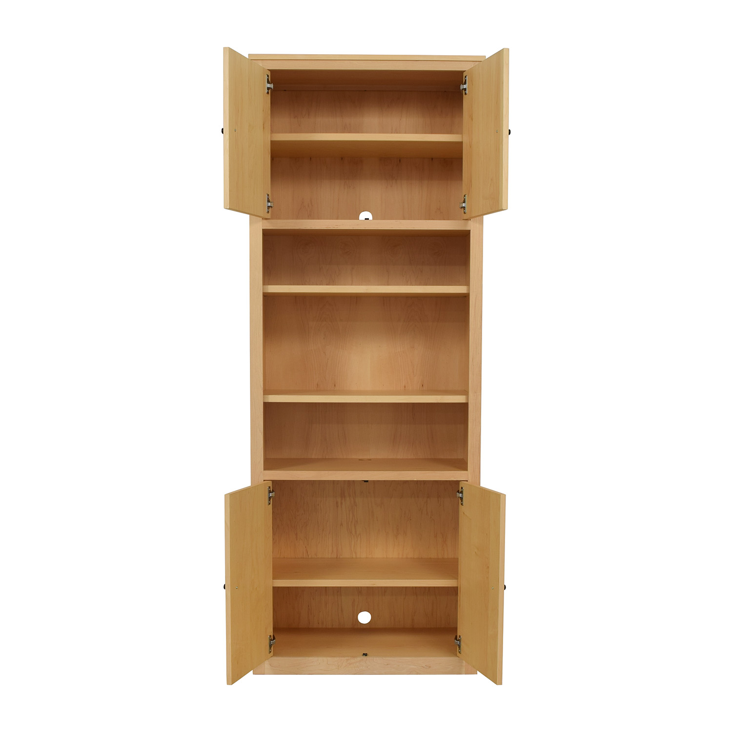 Room & Board Room & Board Woodwind Bookcase with Doors nj