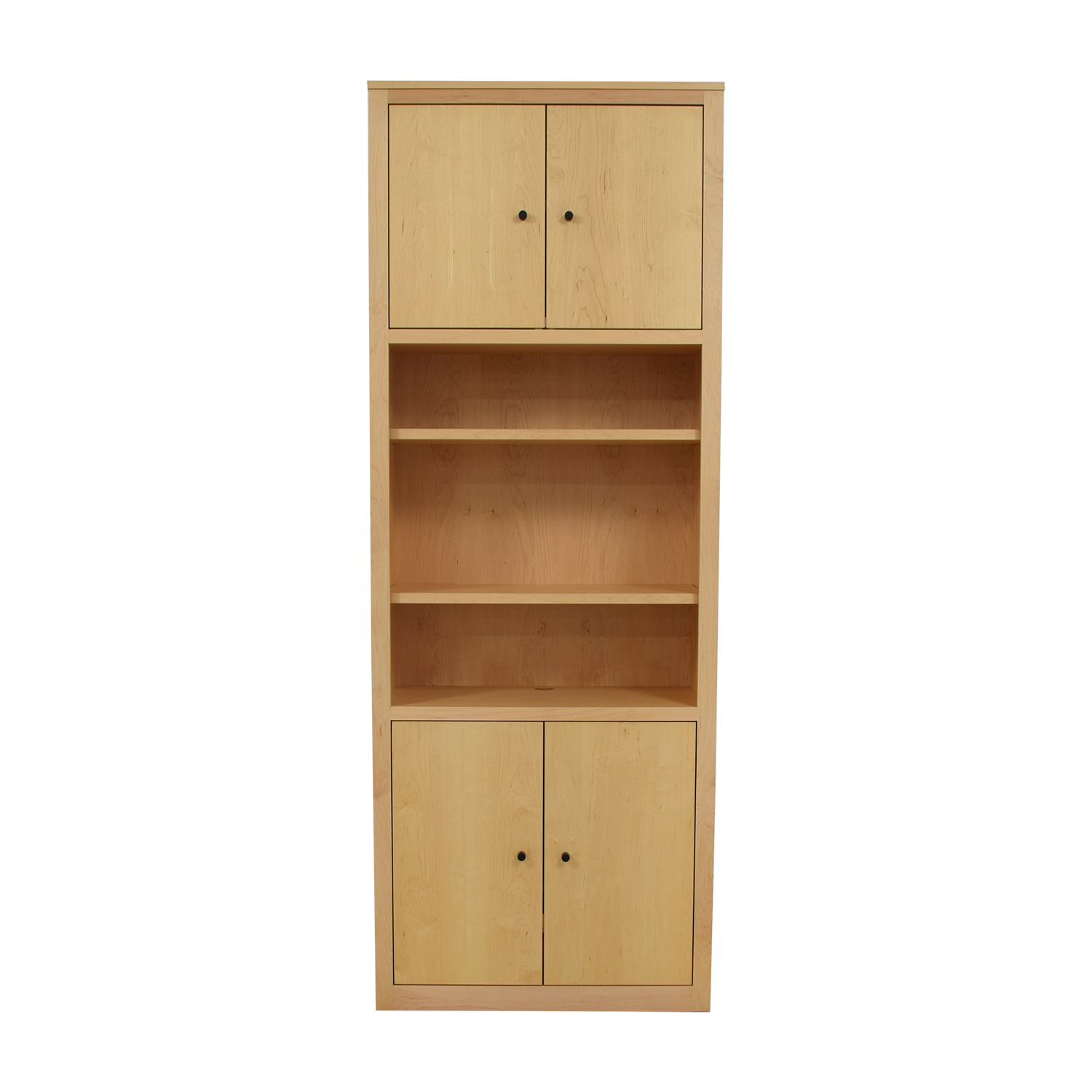 shop Room & Board Woodwind Bookcase with Doors Room & Board