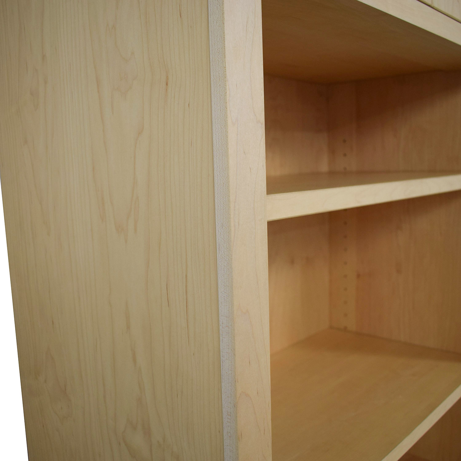 Room & Board Woodwind Bookcase with Doors / Storage