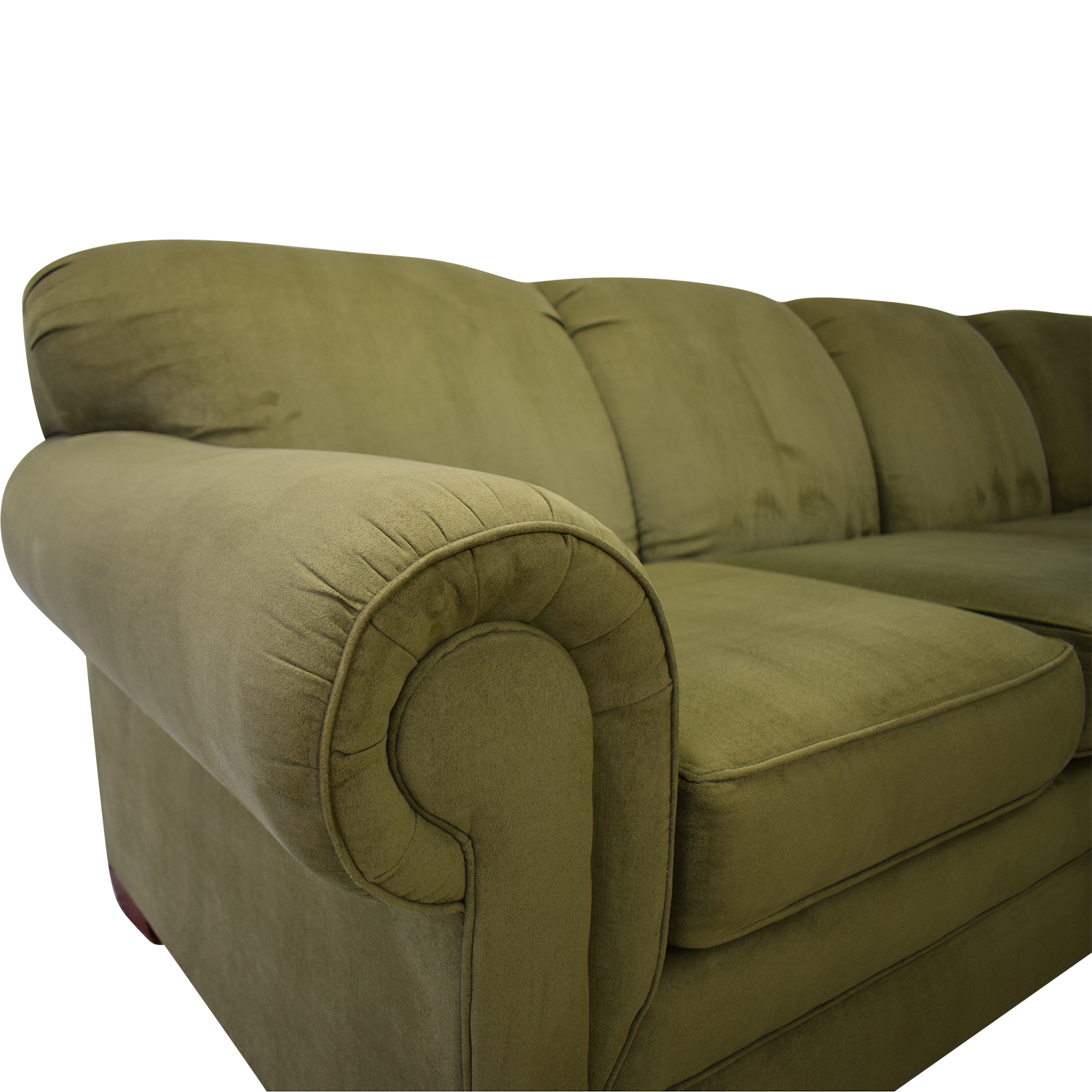 England Furniture England Furniture Green Sectional Sectionals