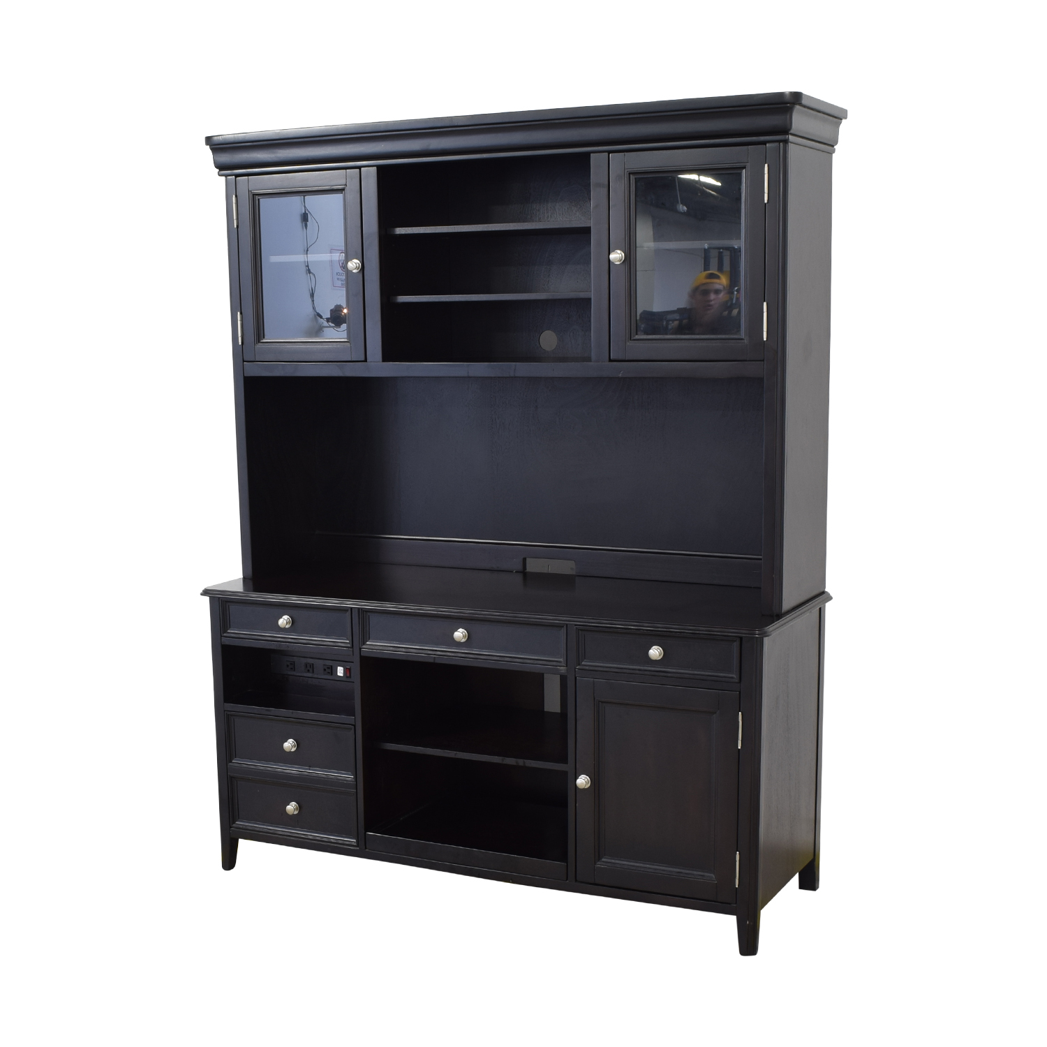 Ashley Furniture Ashley Furniture Large Credenza and Hutch coupon