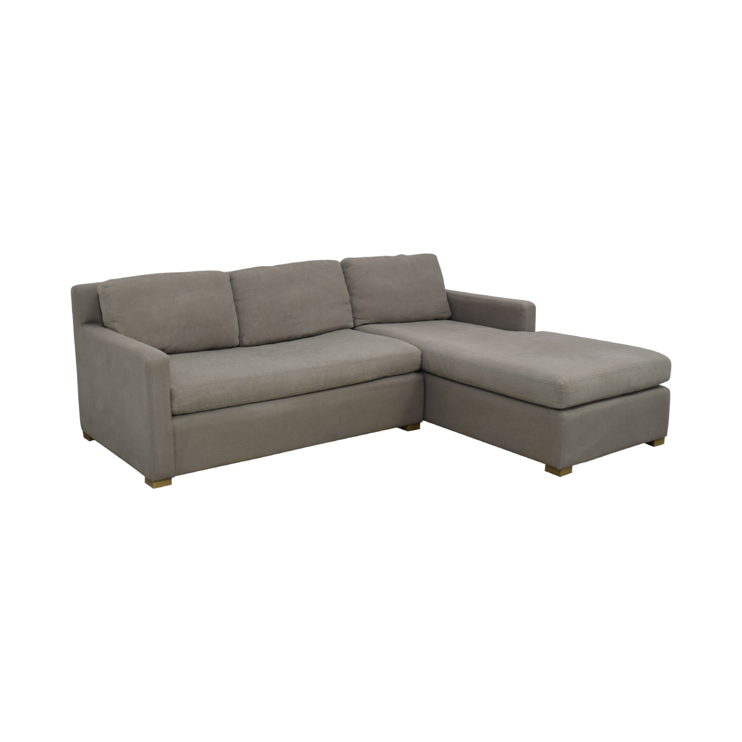 Restoration Hardware Restoration Hardware Belgian Track Arm Right-Arm Chaise Sectional used
