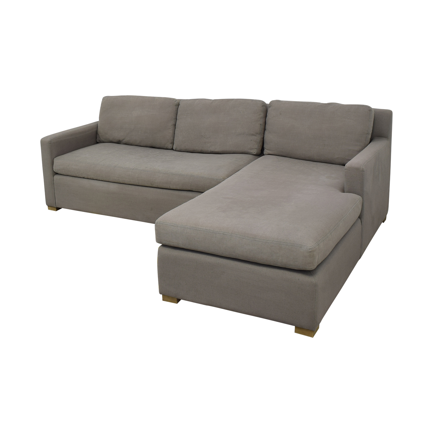 Restoration Hardware Restoration Hardware Belgian Track Arm Right-Arm Chaise Sectional on sale