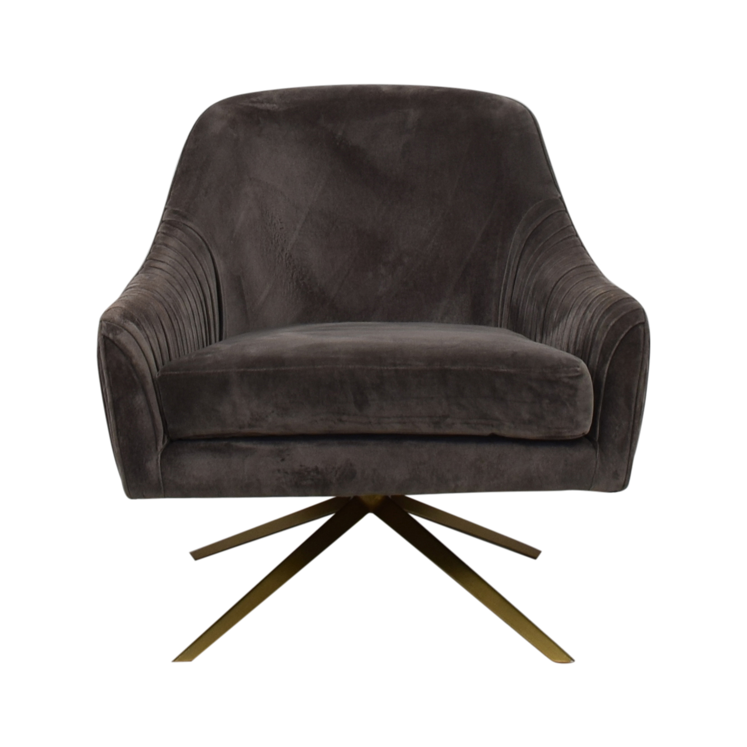 West Elm West Elm Roar and Rabbit Swivel Chair discount
