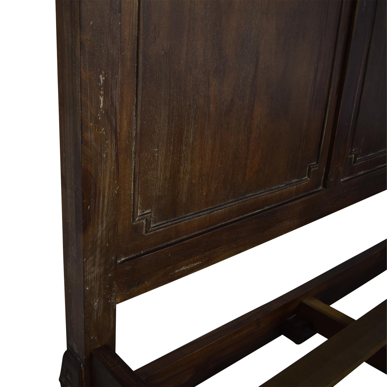buy Restoration Hardware St. James Panel King Bed Restoration Hardware Bed Frames