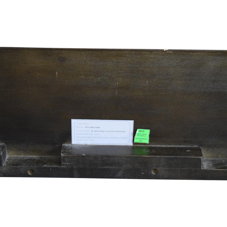 buy Restoration Hardware St. James Panel King Bed Restoration Hardware