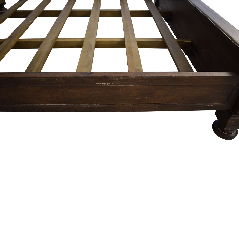 Restoration Hardware St. James Panel King Bed / Bed Frames