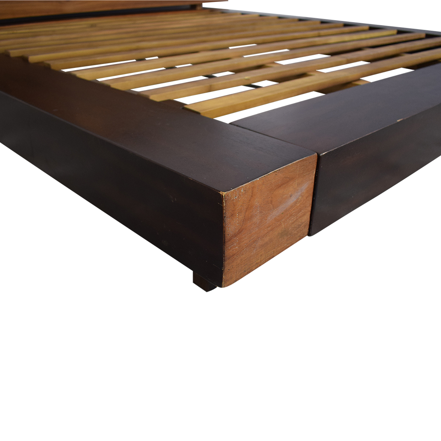 ABC Carpet & Home ABC Carpet &  Home King Size Edge Rustic Slat Bed price