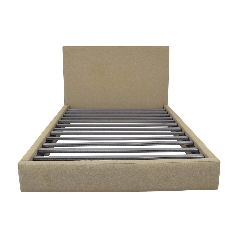 Room & Board Wyatt Upholstered Queen Bed / Beds