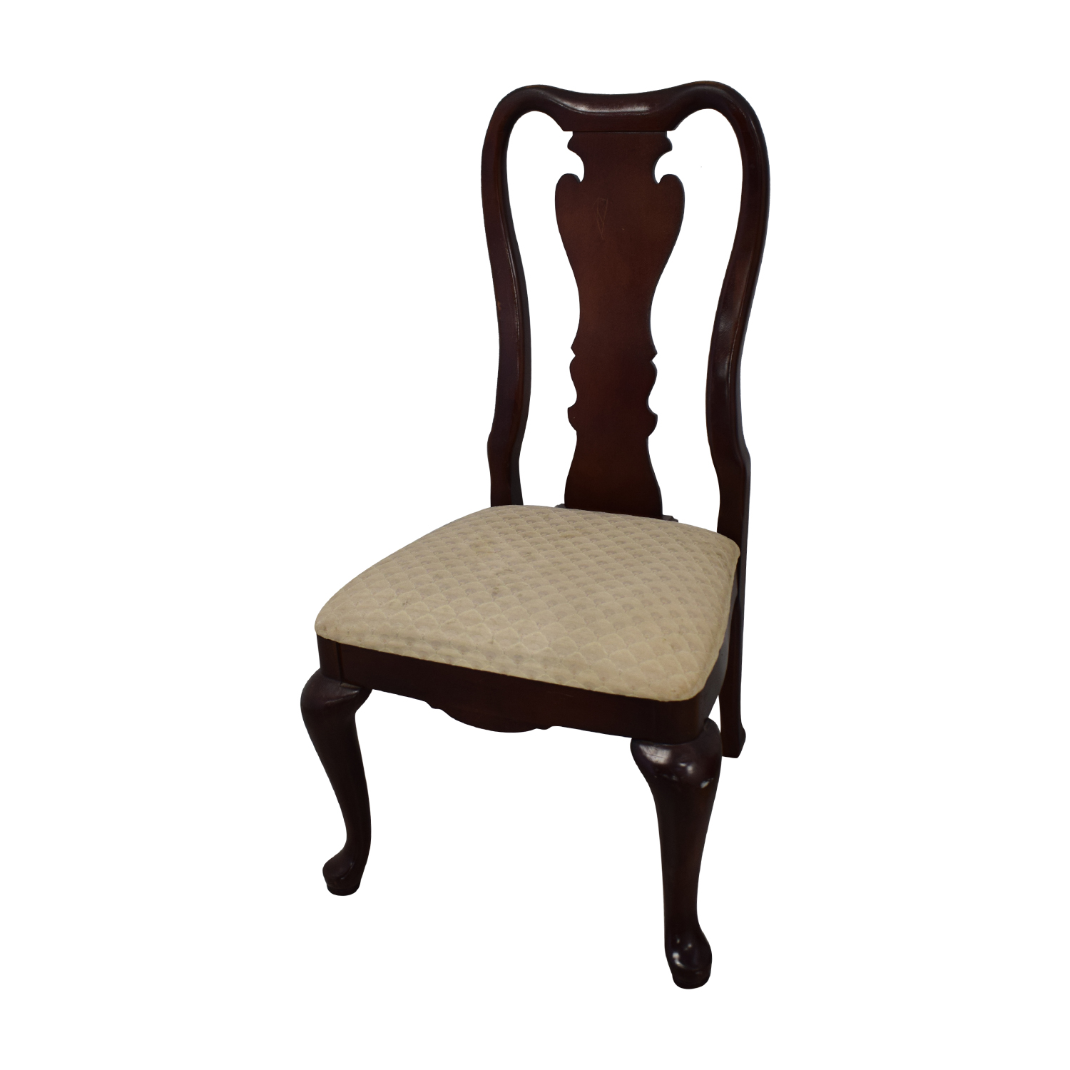 buy Thomasville Traditional Queen Anne Style Dining Chairs Thomasville