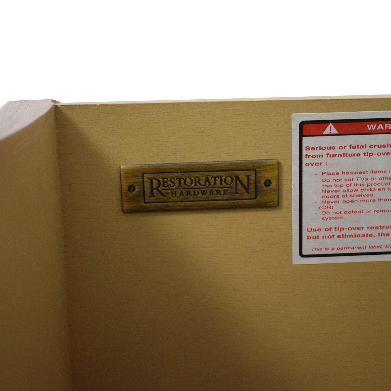 Restoration Hardware Empire Rosette Closed Nightstand Restoration Hardware