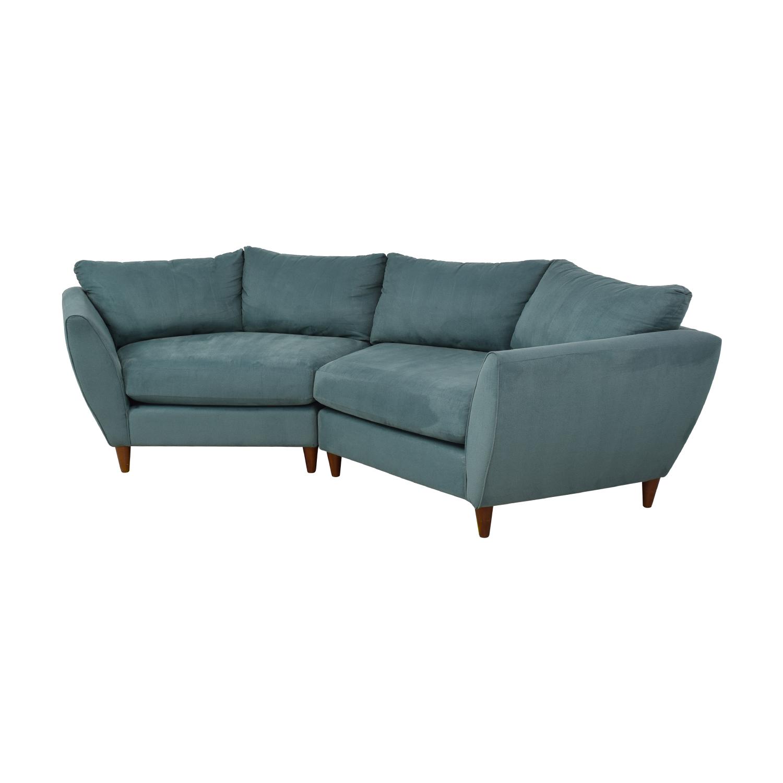 80% OFF - La-Z-Boy La-Z-Boy Sectional Couch / Sofas