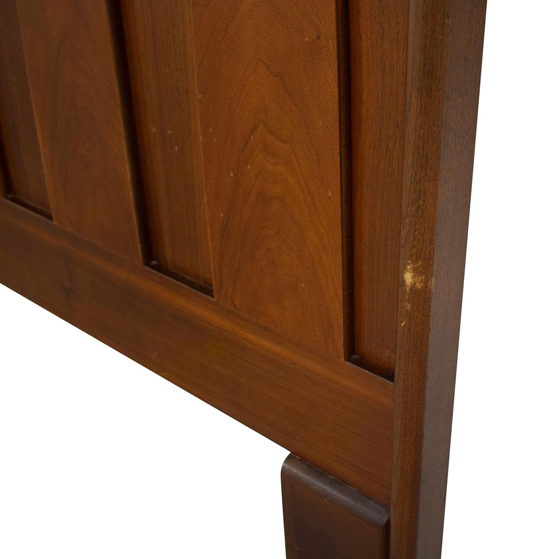 American of Martinsville American of Martinsville Mid Century Modern Headboard dimensions